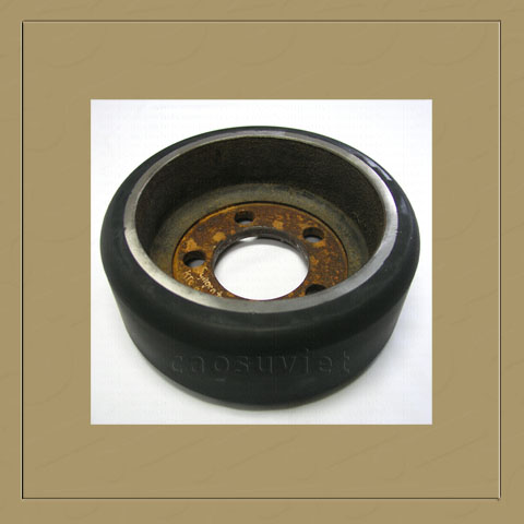 Bánh xe cao su chịu lực | High load resistant rubber wheels