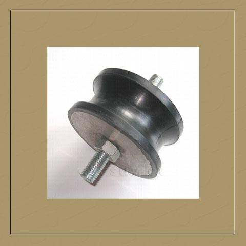 Cylindrical antivibration mount